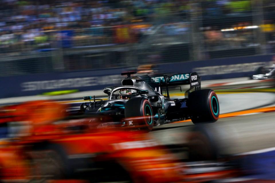 2019 Singapore GP ham vett
