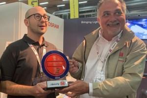 OSRAM premio Best Innovation by FIF
