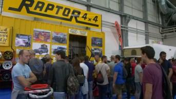 Stand Raptor 4x4
