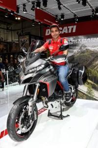Ducati EICMA 2019 – Danilo Petrucci, Multistrada 1260 S Grand Tour