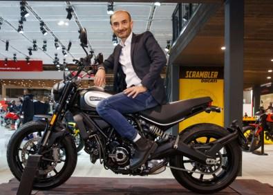 Domenicali (CEO Ducati), Ducati Scrambler Icon Dark