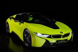 Alcantara e BMW i8 Roadster LimeLight Edition (5)