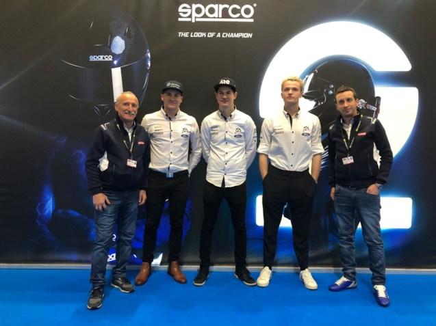 Sparco and M-Sport Team - Birmingham2020