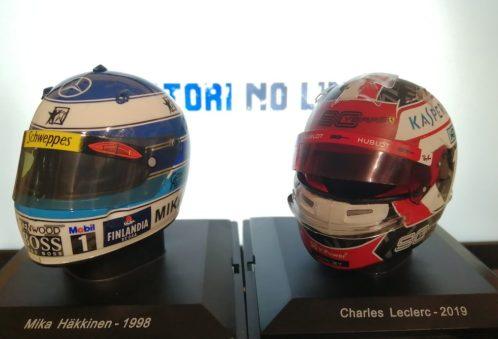 Caschi Dei più grandi piloti di sempre n° 27 Mika Hakkinen 1998