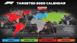 calendario possibile 2020 f1