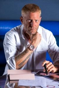 Lapo Elkann – FOUNDER & CREATIVE CHAIRMAN of GARAGE ITALIA – wearing the Big Bang Millennial Pink