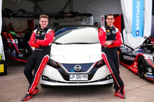 Nissan Formula E Drivers Oliver Rowland and Sebastien Buemi with
