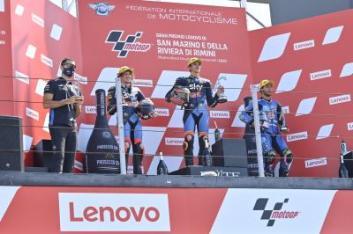 podio moto2