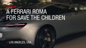 ferrari roma save