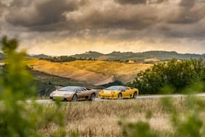 Lamborghini Diablo 1991 vs Diablo 6.0SE in Tuscany 2020