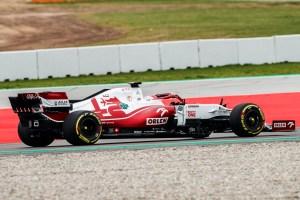 F1 – ALFA ROMEO C41 SHAKEDOWN 2021