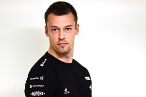 2021 – Daniil KVYAT Alpine F1 Team reserve driver