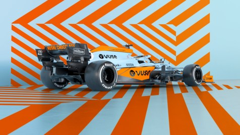 McLaren X Gulf Monaco livery 2021