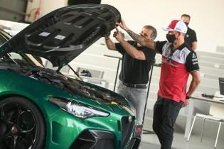 Kimi Raikkonen - Giulia GTA Balocco (8)