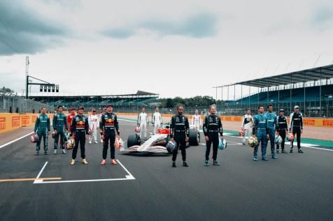 2022 F1 Car Silverstone Grid-2