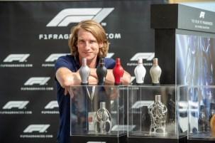 F1® Fragrances ambassador Freddie Hunt presenting the F1 Race Collection @ the F1 Paddock Club™ in Silverstone during the Formula 1® Pirelli British Grand Prix © Getty Images Antony Jones
