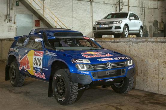 Volkswagen Race Touareg 3, pronto per la Dakar 2011