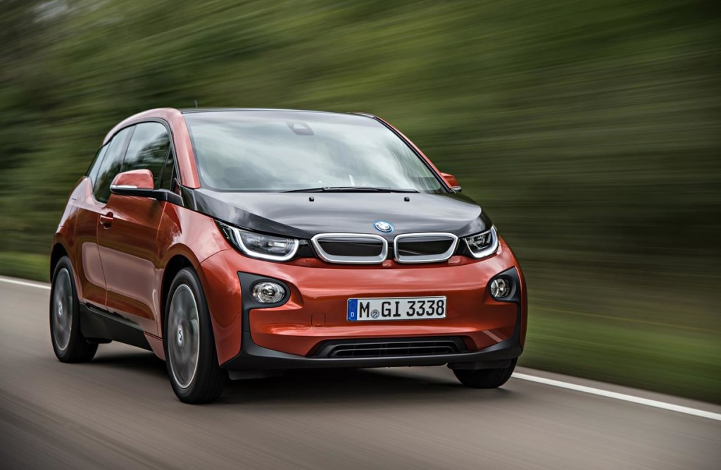 "BMW i3 nominata ""Green Car of the Year"""