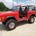 Go Anywhere In This Restored 1968 Ford Bronco