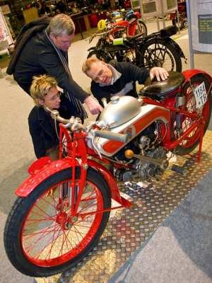 Moto Borgo - De Moto Borgo is een indrukwekkende machine