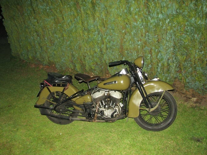 Old soldiers never die... De Harley 'Liberators'