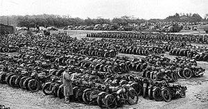 Gevraagd: legermotorfiets uit 1940-45