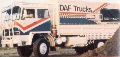 DAF 1800 Mighty Mac de 1.981. Jan de Rooy.