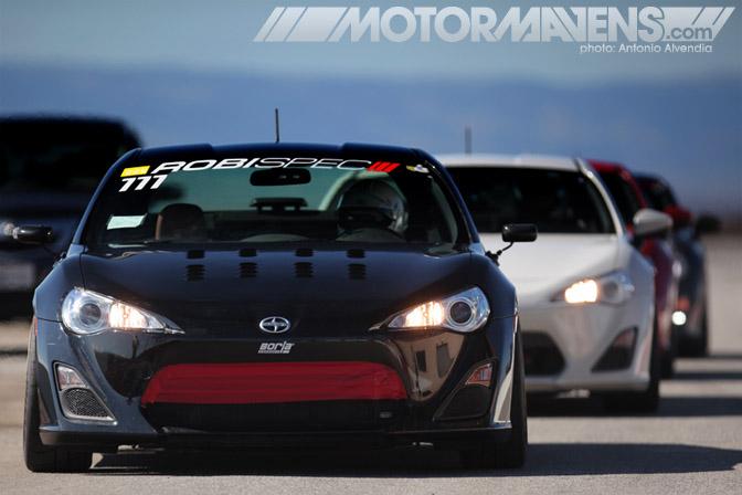 Scion FRS Subaru BRZ Raceline USA 86 Challenge Buttonwillow Raceway Eibach