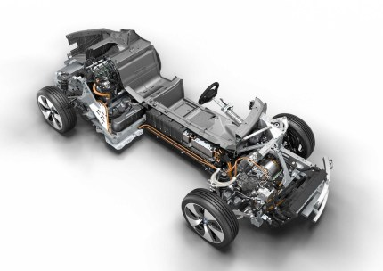 © BMW GROUP / BMW i8, Technical Art (08/2013)
