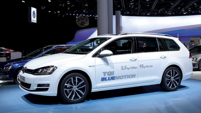 © Volkswagen / VW Golf Variant TGI BlueMotion