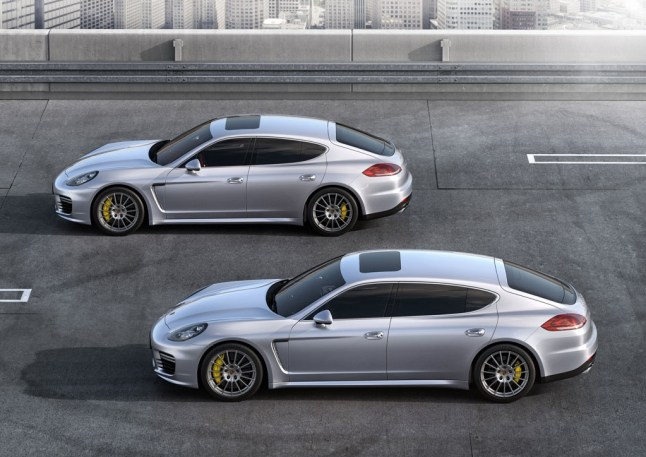 © Porsche / Porsche Panamera Turbo und Turbo Executive