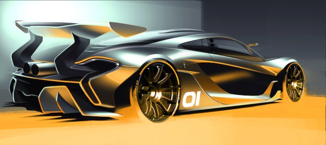 © Copyright McLaren Automotive Limited / The McLaren P1™ GTR design concept