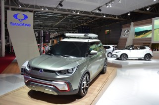 © MotorNews kw_Pariser Automobilsalon 2014 / Concept Car SsangYong XIV-Adventure