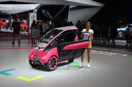 © MotorNews kw_Pariser Automobilsalon 2014 / Toyota i-Road