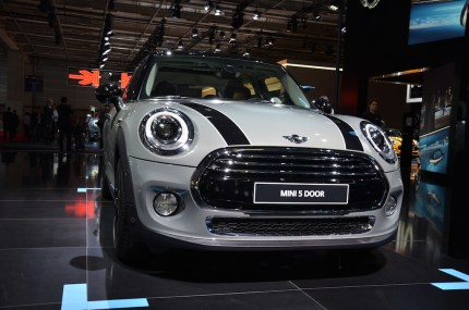 © MotorNews kw_Pariser Automobilsalon 2014 / MINI 5-Türer