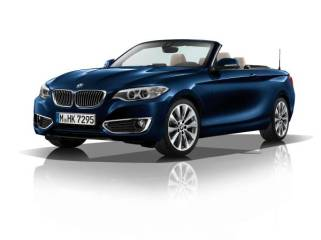 © BMW Group / Das BMW 2er Cabrio - Modell Luxury, Tiefseeblau metallic (09/2014)