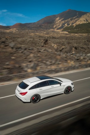 © Mercedes-Benz / Der neue Mercedes-Benz CLA 45 AMG Shooting Brake