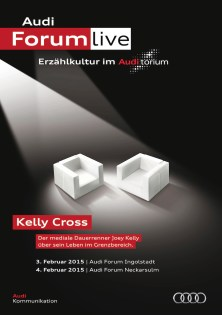 "© Audi / Audi.torium ""Kelly Cross"": Joey Kelly über Sport, Musik und Motivation"