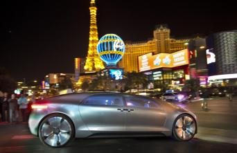 © Mercedes Benz / Weltpremiere des Mercedes-Benz F 015 Luxury in Motion auf der CES