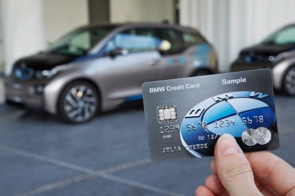 © BMW Group / BMW Innovationen auf der CES 2015 in Las Vegas - Die multifunktionale Kreditkarte der BMW Group