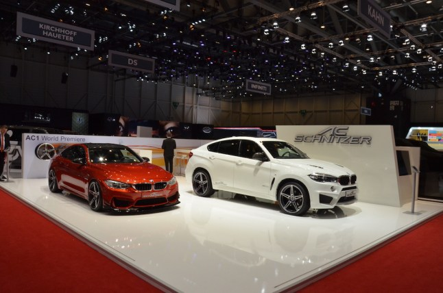 © MotorNews kw / 85. Auto-Salon Genf 2015 / AC Schnitzer Messestand