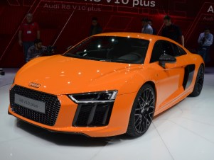 © MotorNews kw / 85. Auto-Salon Genf 2015 / Audi R8 V10 plus