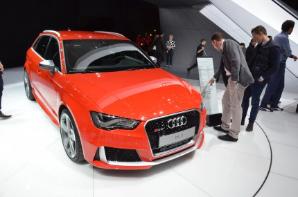 © MotorNews kw / 85. Auto-Salon Genf 2015 / Audi RS3
