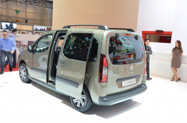 © MotorNews kw / 85. Auto-Salon Genf 2015 / Citroen Berlingo