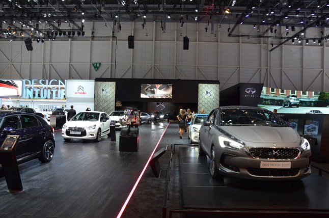 © MotorNews kw / 85. Auto-Salon Genf 2015 / DS Messestand