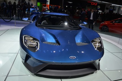 © MotorNews kw / 85. Auto-Salon Genf 2015 / Ford GT
