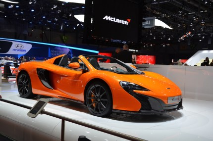 © MotorNews kw / 85. Auto-Salon Genf 2015 / Mc Laren 650 S
