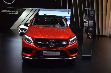 © MotorNews kw / Auto-Salon Genf 2015 / Mercedes GLE 450 AMG Coupe