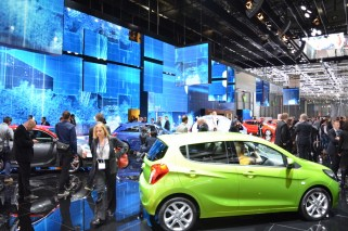 © MotorNews kw / 85. Auto-Salon Genf 2015 / Opel Messestand