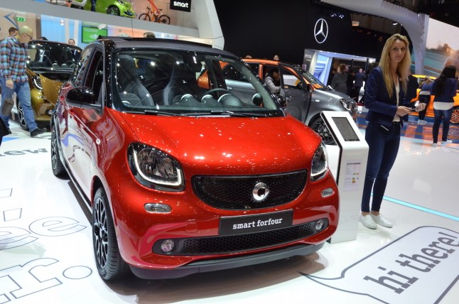 © MotorNews kw / 85. Auto-Salon Genf 2015 / smart forfour